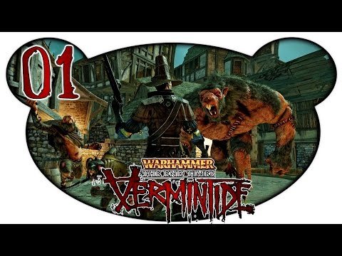 Warhammer End Times: Vermintide #01 - Ratten statt Zombies (Facecam Let's Play German Deutsch)