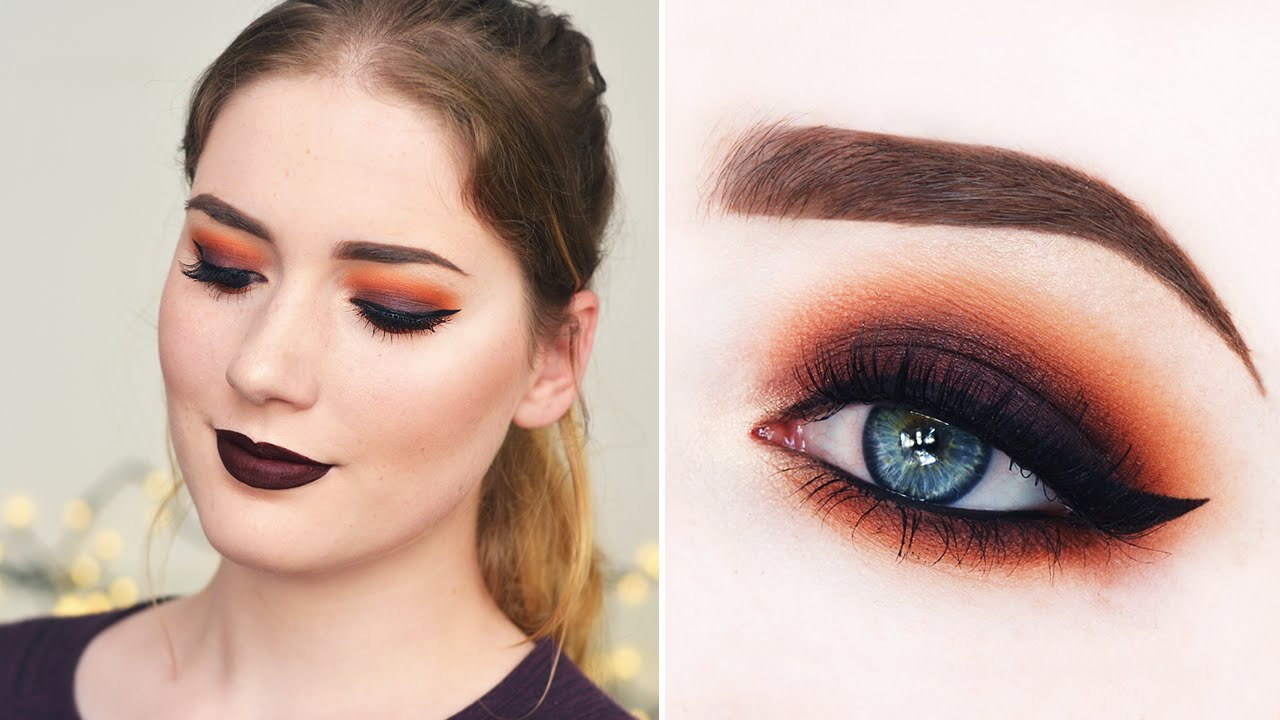Warm Autumn Smoky Eye Make-up Tutorial u2665 BeautyCloud.nl ...