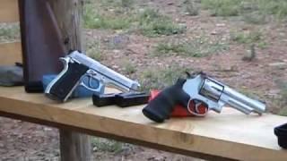 buzzagun (12-1) pistola calibro 9 e revolver 44 magnum