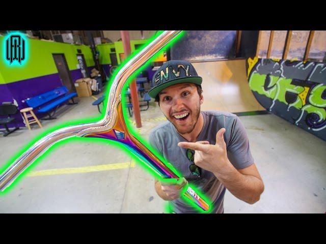 Worlds Lightest Scooter Bars Youtube