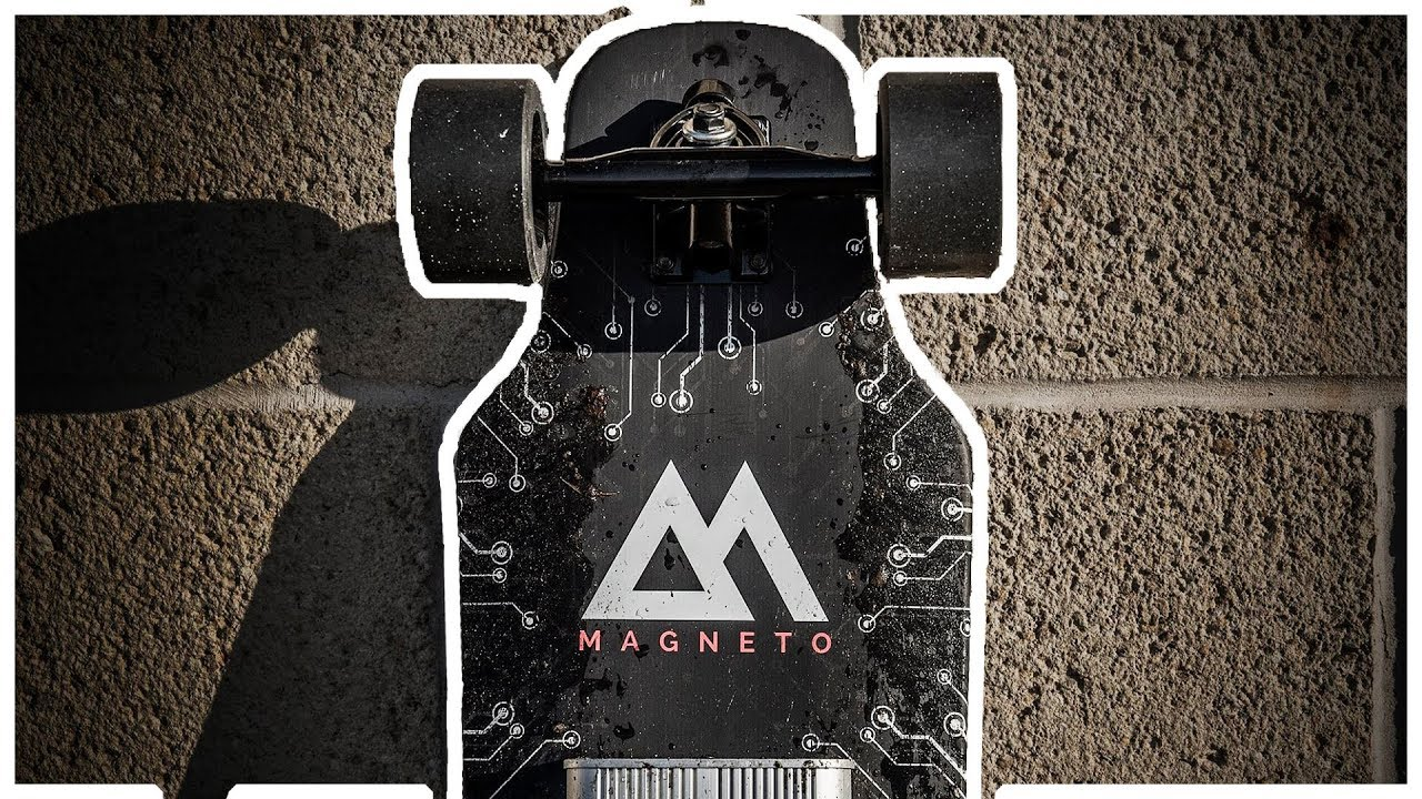 the magneto revolution electric skateboard youtube