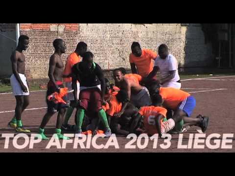 FOOTBALL  TOP AFRICA 2013 A LIEGE