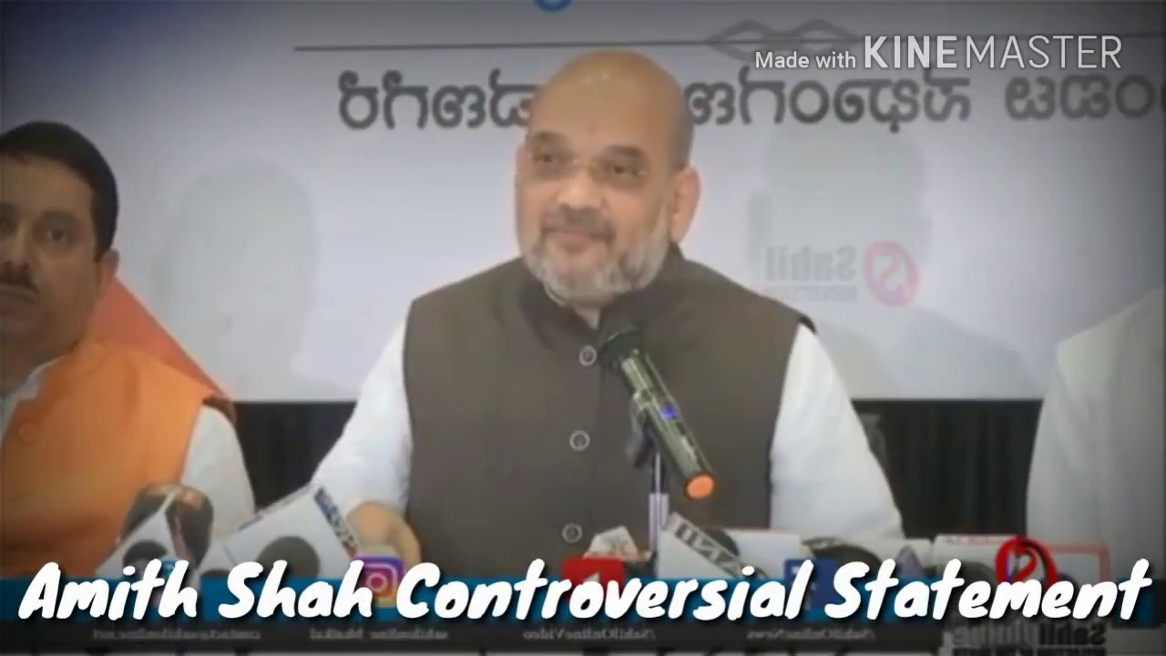 Amith Shah Wrong Speech on BJP Yediyurappa Government,Karnataka||political Speech||2018
