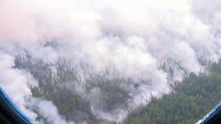 Сводки с поля боя напоминают отчеты спасателей, которые ведут борьбу с лесными пожарами.