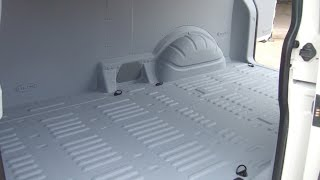 LINE-X Spray-on Van liners - better than ply linings!