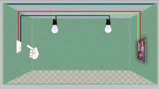 VIDEO AULA 2  - INTERRUPTOR SIMPLES PARA  2 LAMPADAS  -  Curso Eletricista Prático
