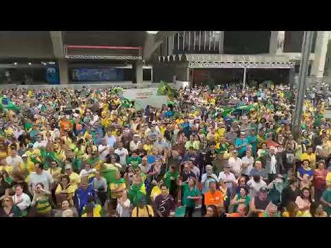 Manifestação contra o ex-presidente Lula