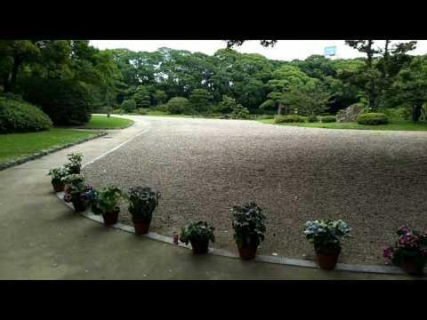 Trip to Keitakuen Garden, Tennoji, Osaka, Japan