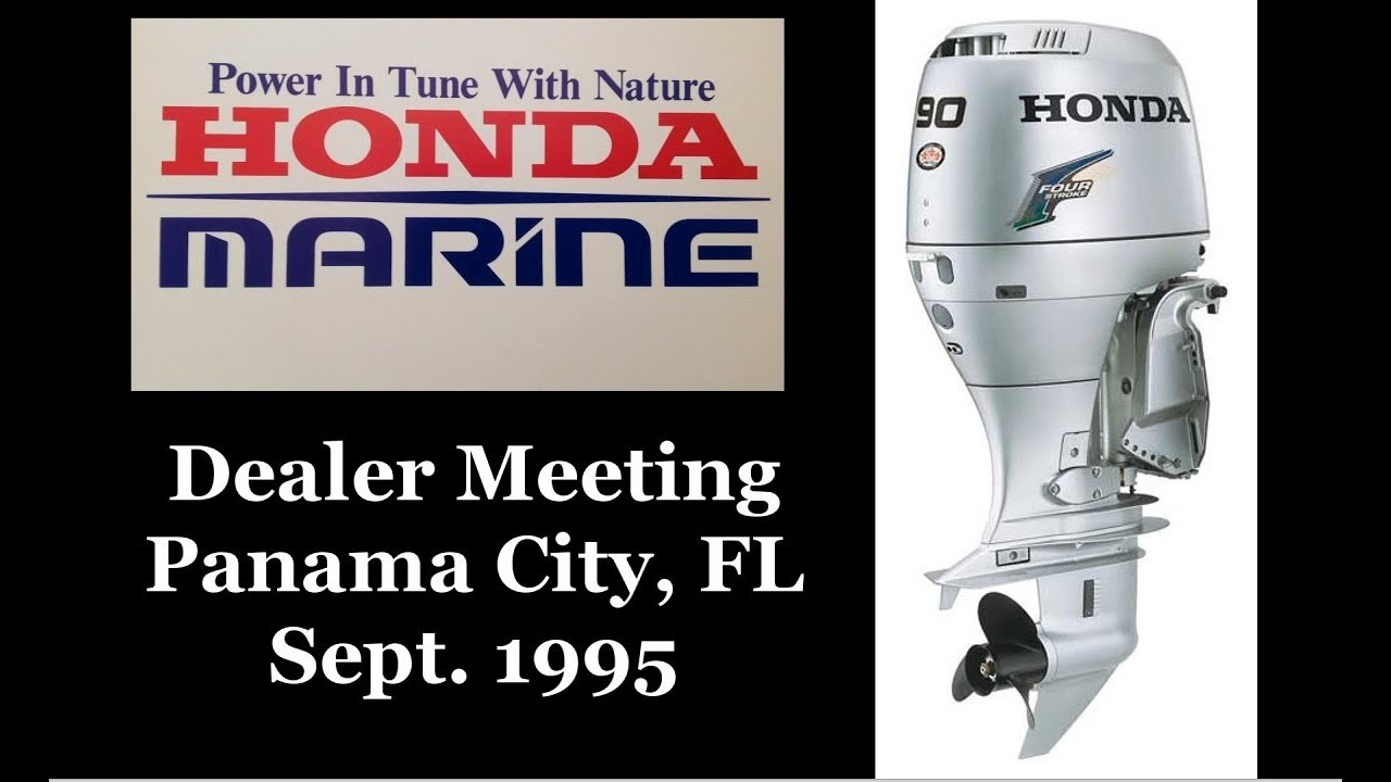 Honda Marine Dealer Meeting Intro Of Bf75 Bf90 Outboards