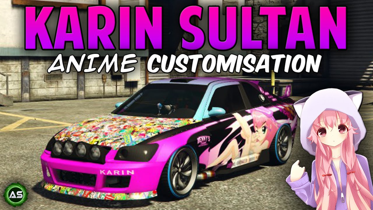 Gta 5 Quot Karin Sultan Quot Anime Customisation Bcc Ep 30