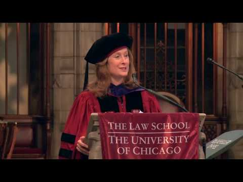 UChicago Law 2019 Diploma And Hooding Ceremony