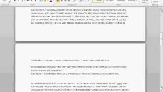 DRAMATIC BATMAN FANFIC READING