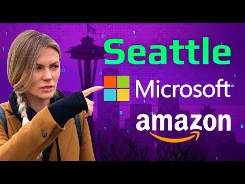 Amazon, Microsoft | Сколько тратят программисты в США | Сиэтл глазами айтишников