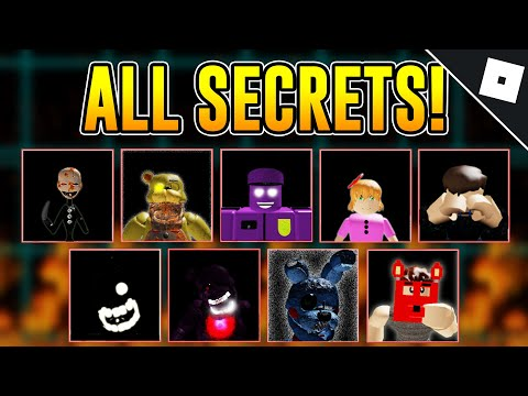 How To Unlock ALL OF THE SECRET CHARACTERS U0026 BADGES In AFTONS FAMILY DINER | Roblox