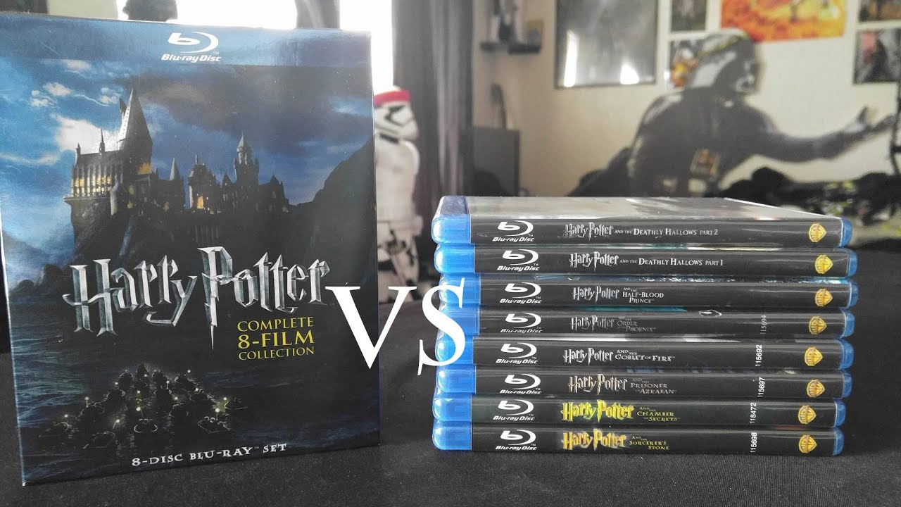 harry potter complete 8 film collection comparisons youtube. Black Bedroom Furniture Sets. Home Design Ideas