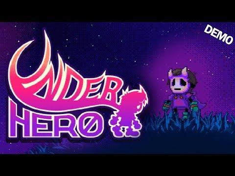 Underhero - A Satirical Side-Scrolling RPG Adventure (Underhero Gameplay)