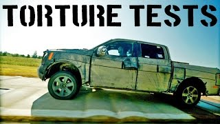 Repeat youtube video ► 2015 Ford F-150 Torture Tests
