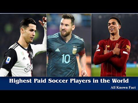 Highest Paid Football players In The World - Lionel Messi , Cristiano Ronaldo, Neymar Jr.,Paul Pogba