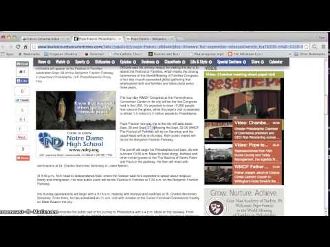 Philadelphia San Francisco Pope Francis Obama Philadelphia Film Gay Marriage