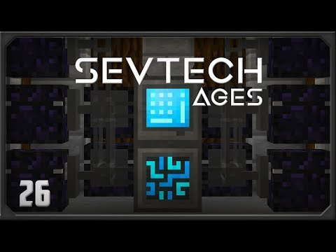 SevTech Ages EP26 Refined Storage