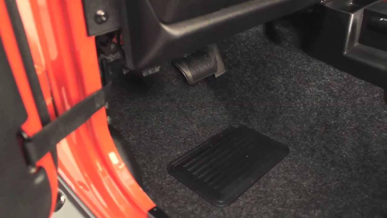 BedRug Jeep Floor and Cargo Liners Video