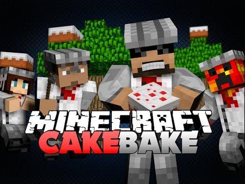 Minecraft Cake Bake