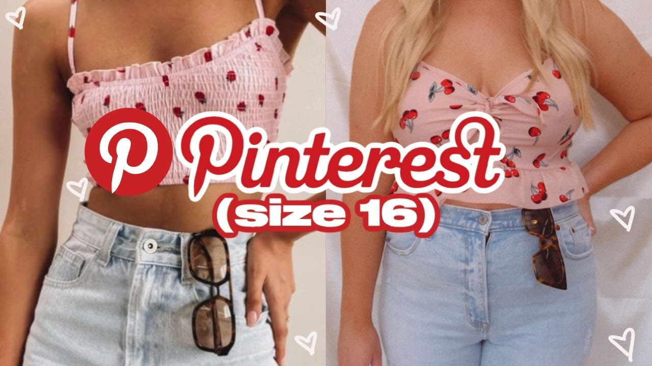 recreating ~trendy~ PINTEREST outfits (with clothes i already own!)