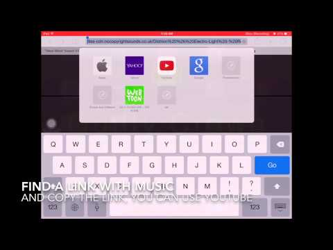 how to add songs imovie