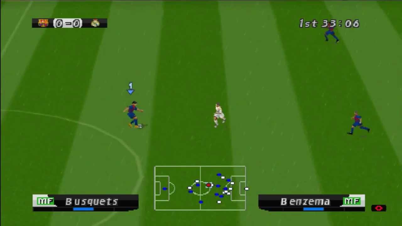 Winning Eleven Uefa 2012 On Epsxe  Playstation Psone Emulator You