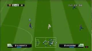 Winning Eleven UEFA 2012 on ePSXe 1.7.0 - Playstation (PSOne) Emulator