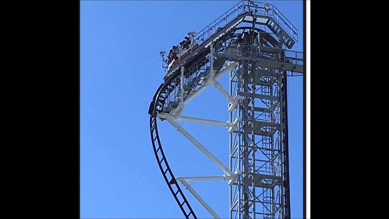 3月6日 富士急ハイランド ジェットコースター 高飛車の事故 ツイッター畫像 - YouTube