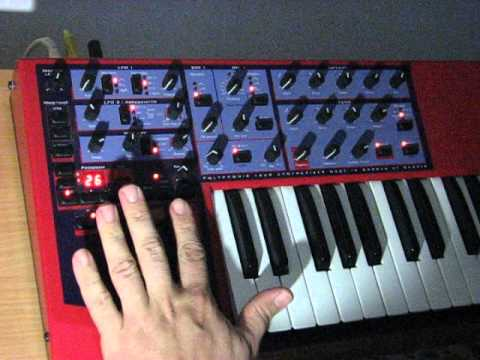 Some sound of Nord Lead 1