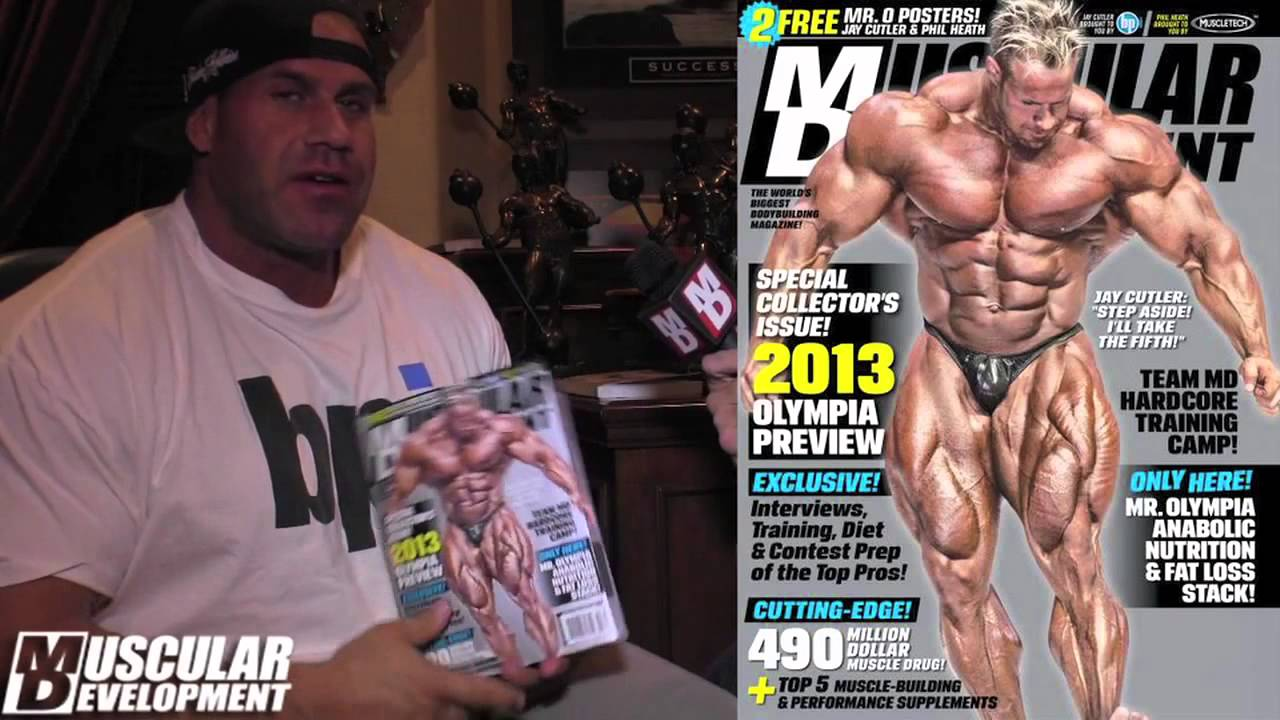 JAY CUTLER ON MUSCLE BEACH TV 6 WEEKS TO MR OLYMPIA 2013 - YouTube a31ff7b1d