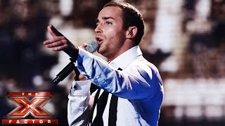 Jay James sings Empire State Of Mind II / New York, New York | Live Week 6 | The X Factor UK 2014