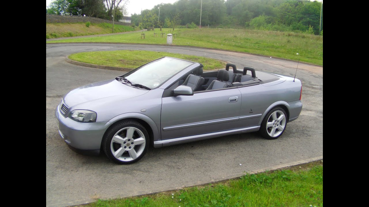 2006 vauxhall astra convertible 1 8 bertone exclusive 85know sold youtube. Black Bedroom Furniture Sets. Home Design Ideas