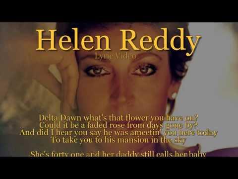 Helen Reddy - Delta Dawn (Lyric Video) [HQ]
