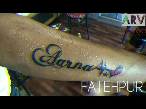 Name Tattoo design   Best tattoo design   Kanpur tattoo   ARV tattoo  