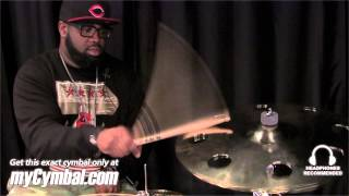 "Sabian 18"" HHX Evolution O-Zone Crash Cymbal - Played by Rex Hardy Jr. (11800XEB-1110912A)"