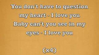Question My Heart - Kaysha (Lyrics/Parole)
