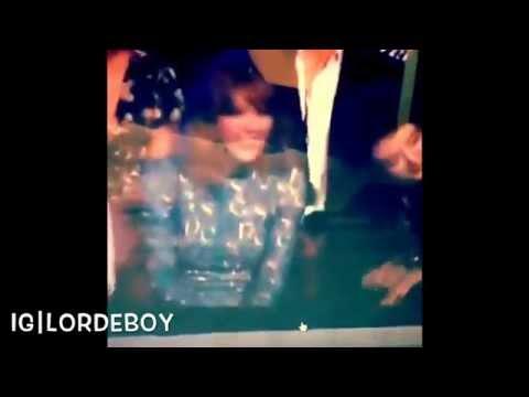 Lorde & Taylor Swift dancing at the MTV VMA 2014