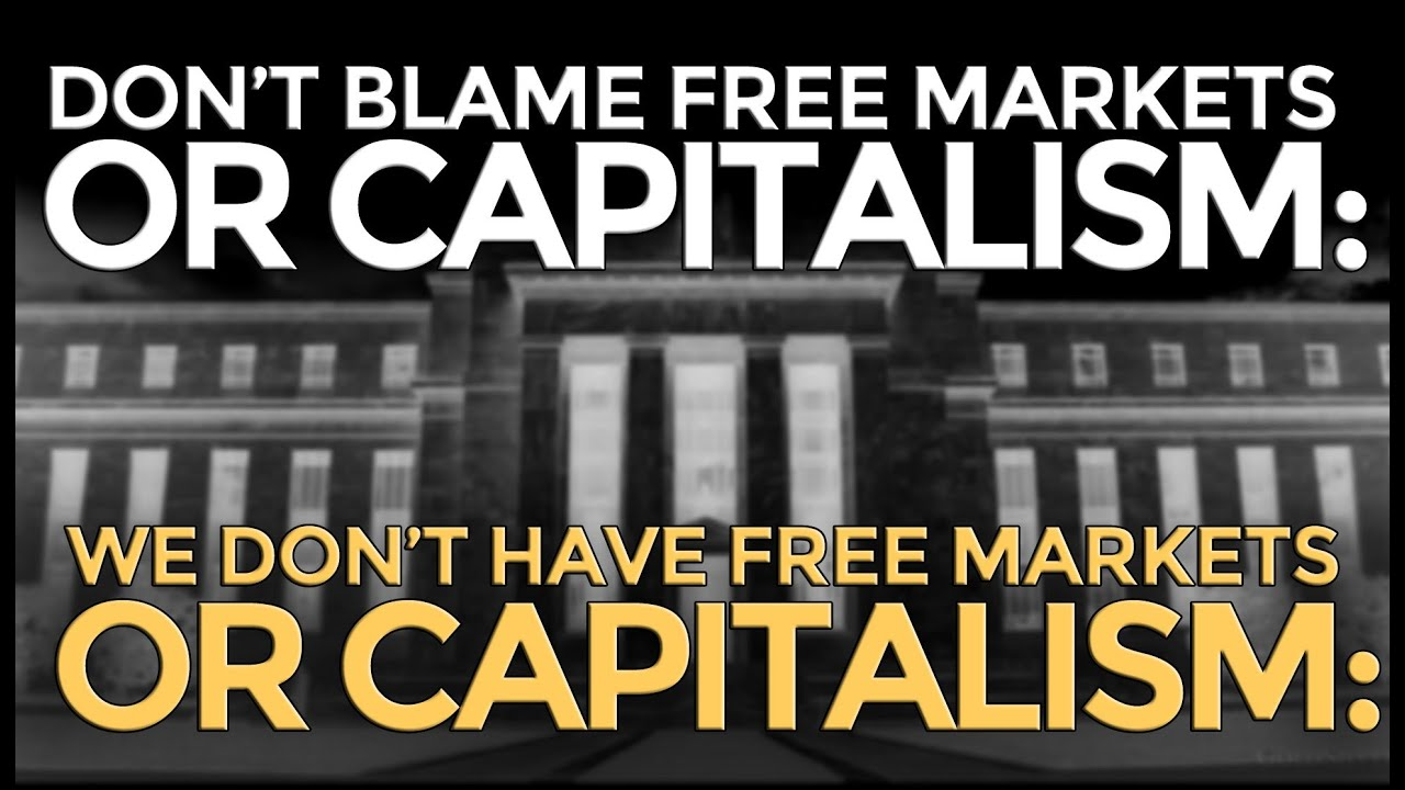 Image result for image of free market capitalism