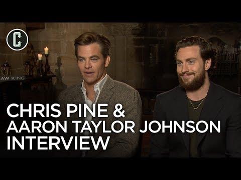 Outlaw King: Chris Pine and Aaron TaylorJohnson