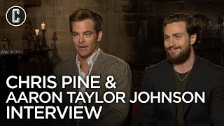 Outlaw King: Chris Pine and Aaron Taylor-Johnson Interview