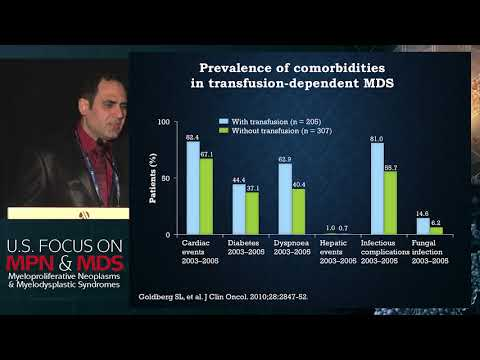 Iron chelation therapy for MDS