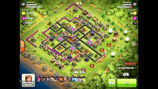Let's Play Clash Of Clans #5 (400K loot And Attack Log And Defence Log