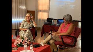 Presentación de Merceditas Laserna en el Casino Principal de Tauste
