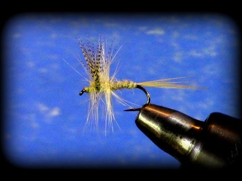 Fly Tying: Light Cahill with Uncle John