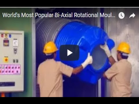 World's Most Popular Bi-Axial Rotational Moulding Machine Video from Vinodrai Engineers