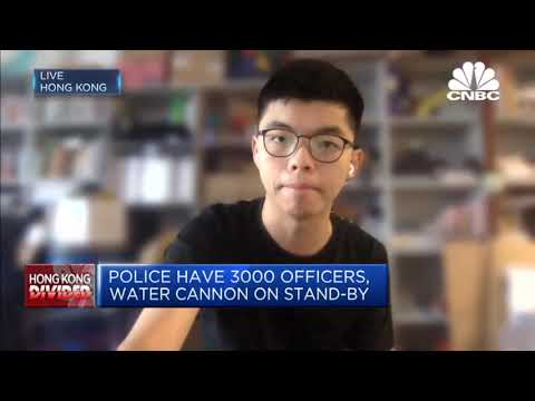 CNBC Interview Joshua Wong on the New Security Bill