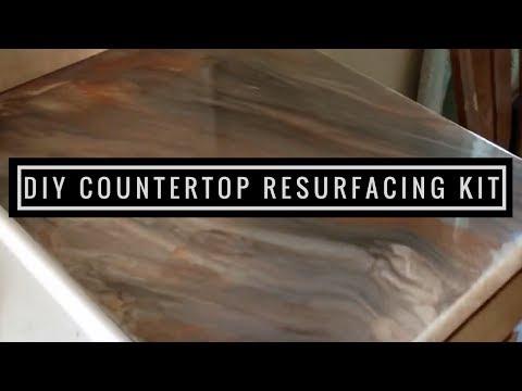 Metallic Epoxy DIY   Countertop Resurfacing Kit